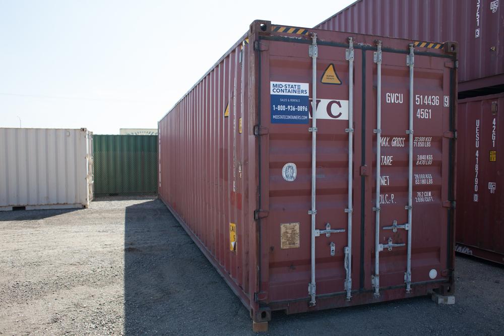 SANTA CLARITA Shipping Storage Containers