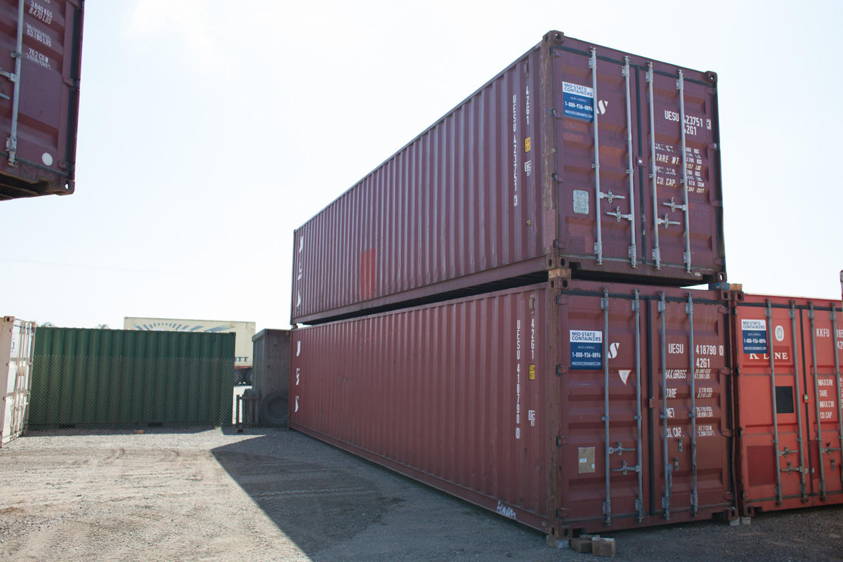 West Sacramento Shipping Storage Containers Midstate