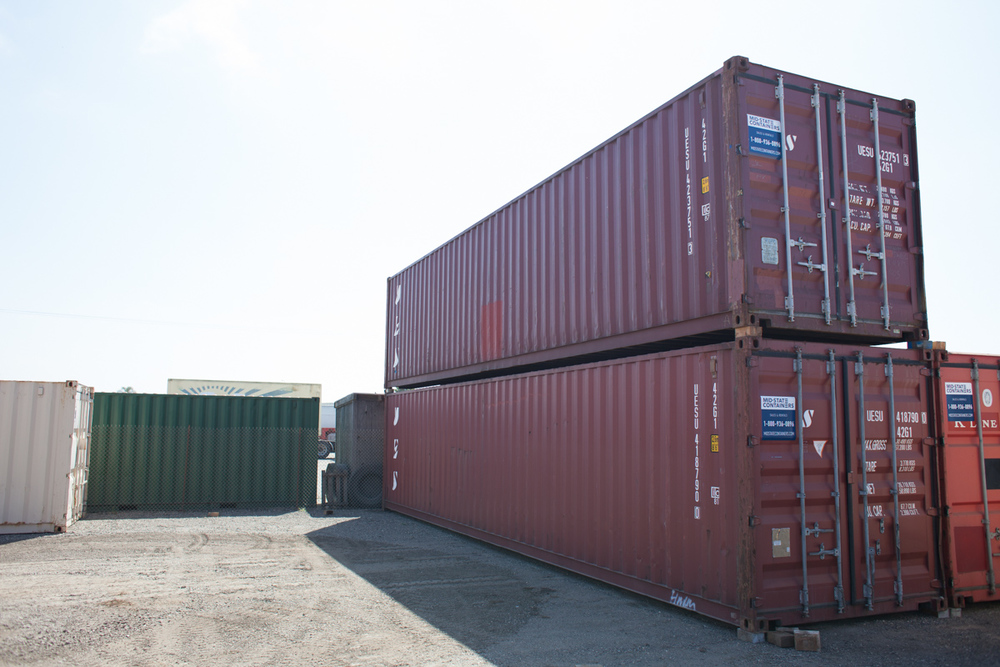 ENCINITAS Shipping Storage Containers