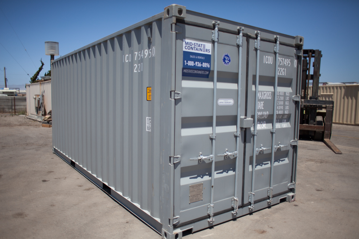 CALIFORNIA CITY Shipping Storage Containers Midstate Containers