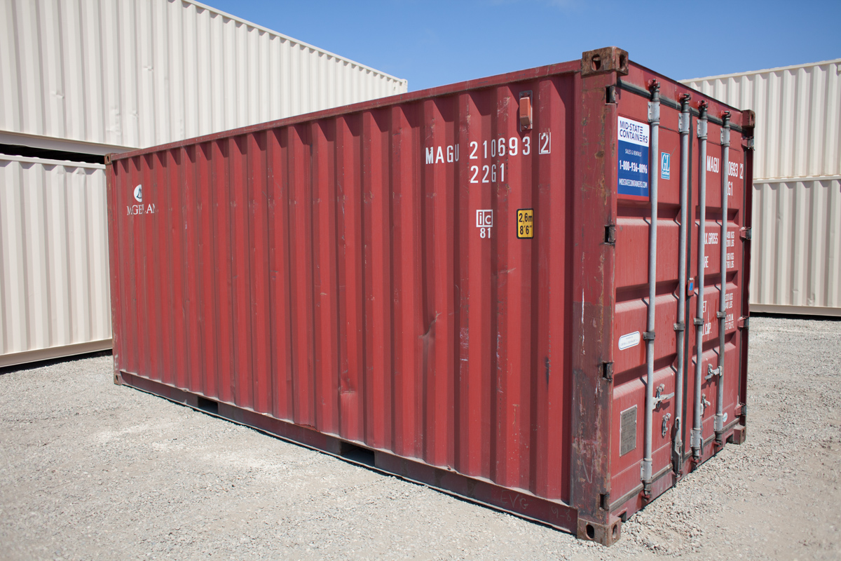 ROLLING HILLS Shipping Storage Containers Midstate Containers