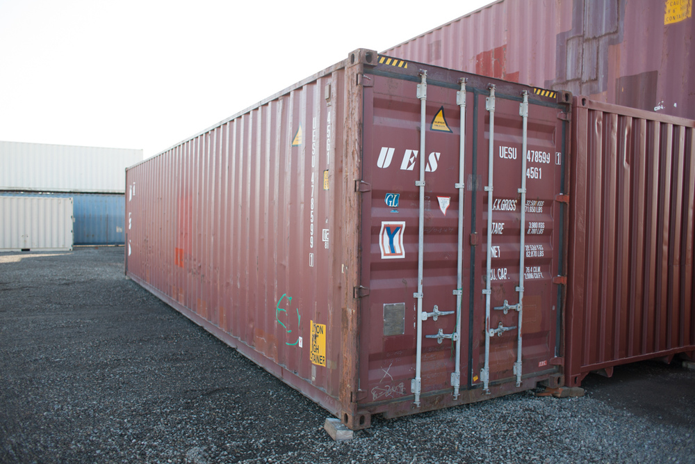 CAMPBELL Shipping Storage Containers