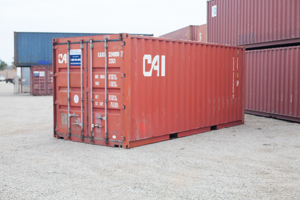 BREA Shipping Storage Containers