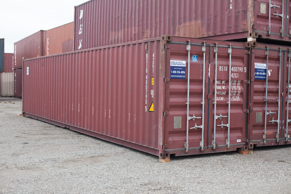 Exceptionnel WALNUT CREEK Shipping Storage Containers