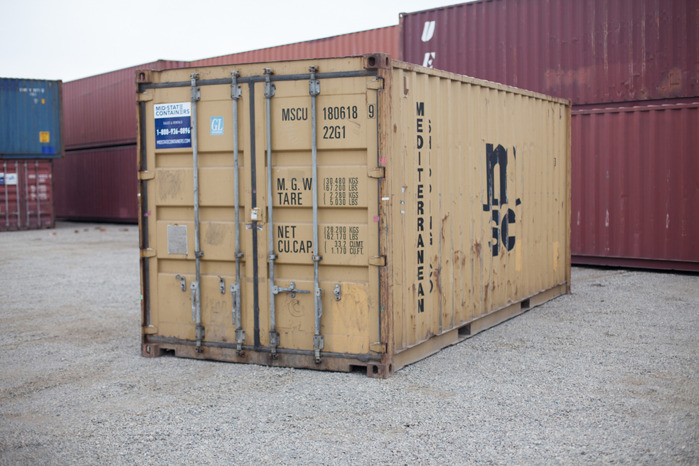 Attrayant SAN GABRIEL Shipping Storage Containers