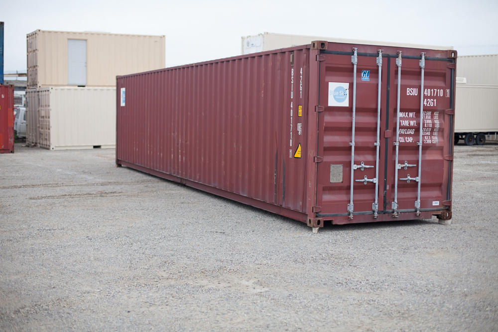 Genial TRACY Shipping Storage Containers