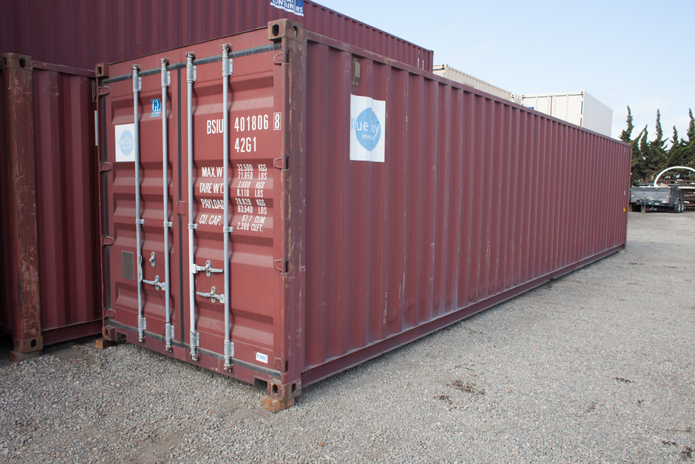 MOUNTAIN VIEW Shipping Storage Containers