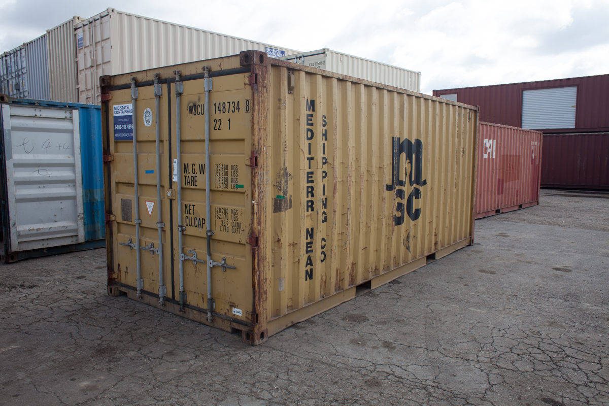 BAKERSFIELD Shipping Storage Containers Midstate Containers