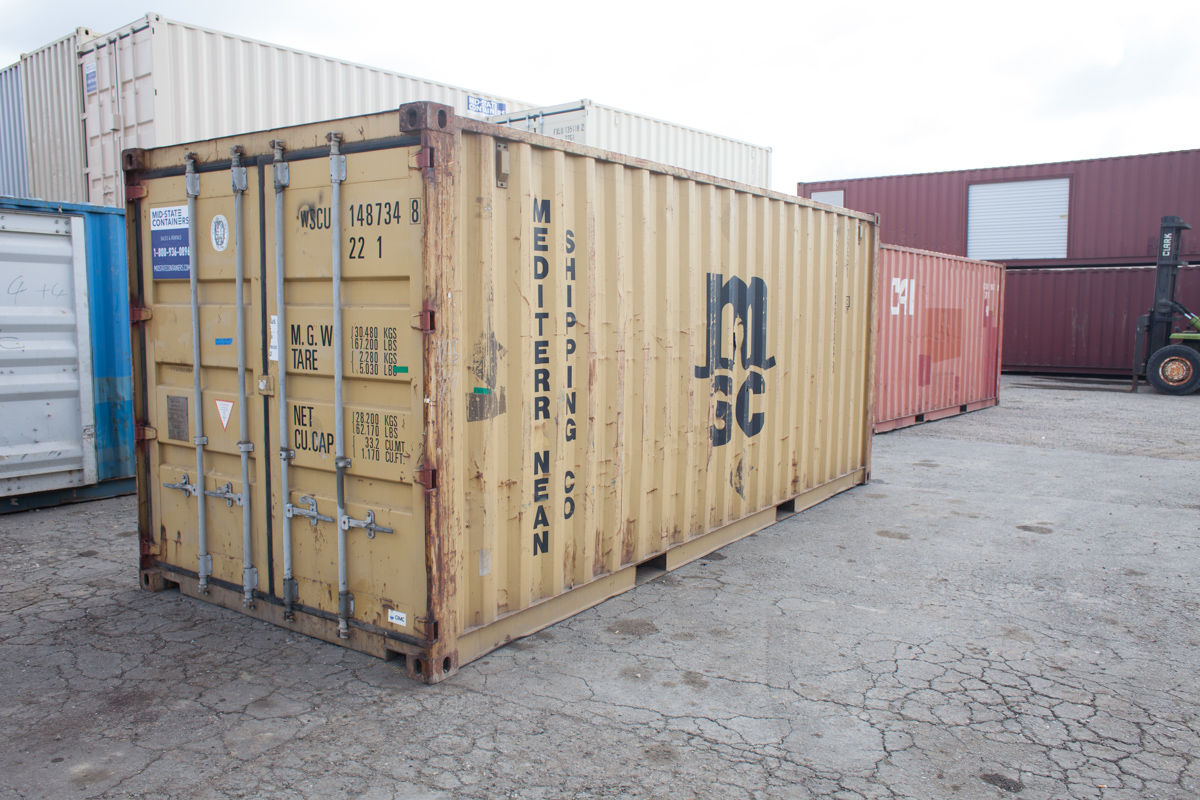 LONG BEACH Shipping Storage Containers Midstate Containers