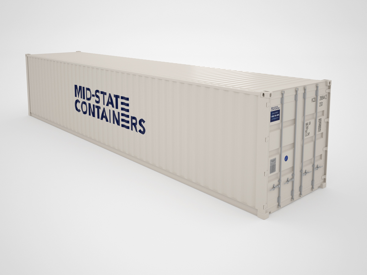 PASO ROBLES Shipping Storage Containers Midstate Containers