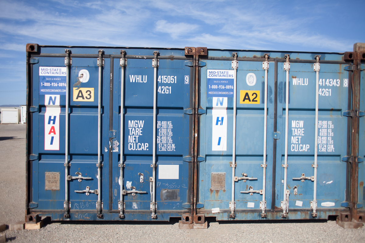 VISALIA Shipping Storage Containers — Midstate Containers