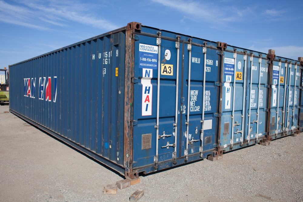 SAN RAFAEL Shipping Storage Containers