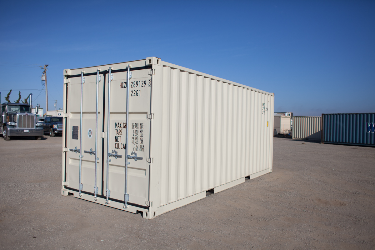 WOODLAND Shipping Storage Containers Midstate Containers