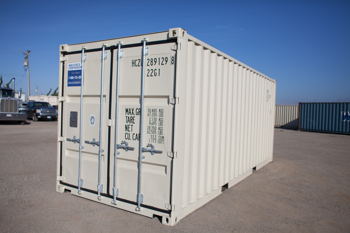 VALLEJO Shipping Storage Containers Midstate Containers