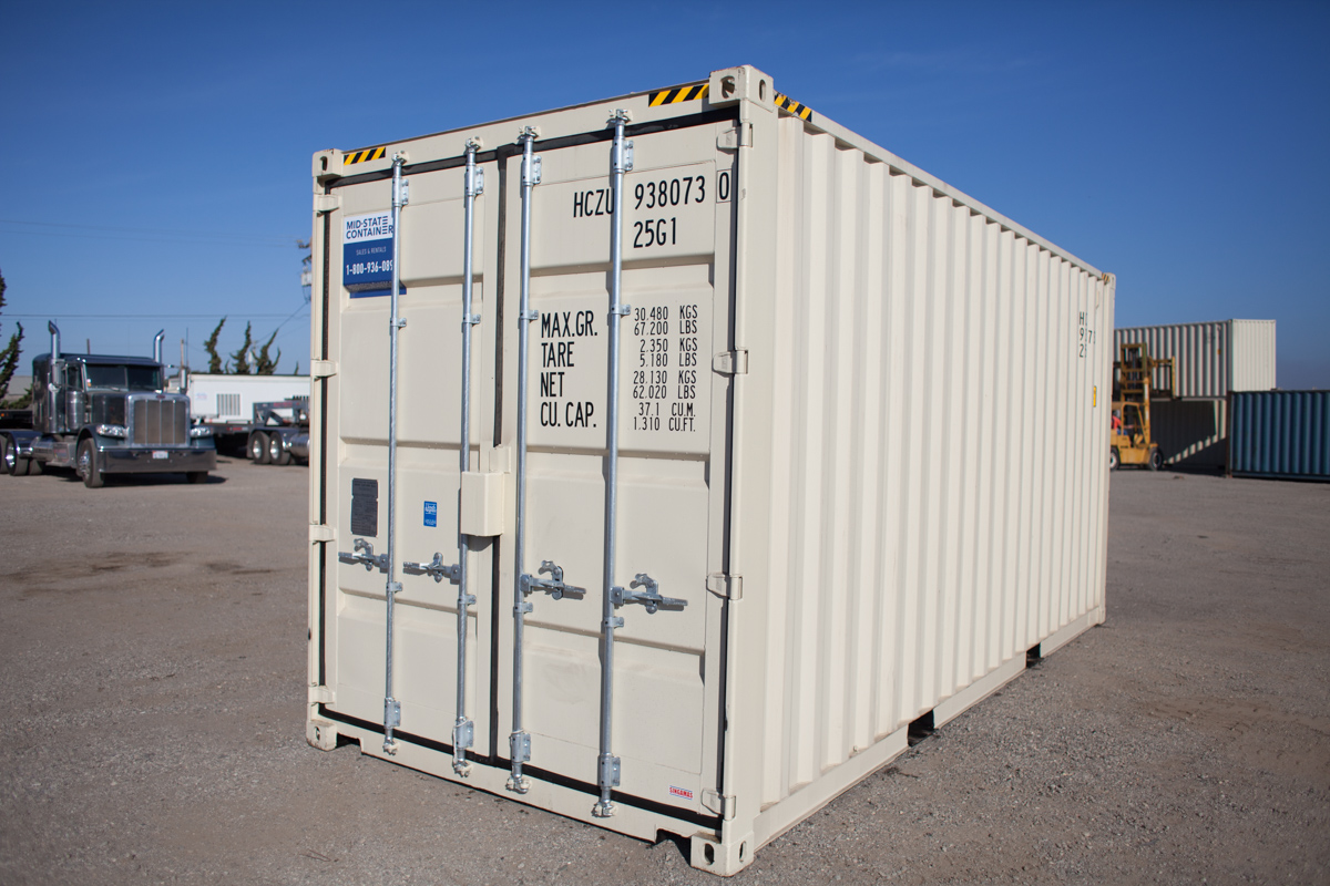 YREKA Shipping Storage Containers — Midstate Containers