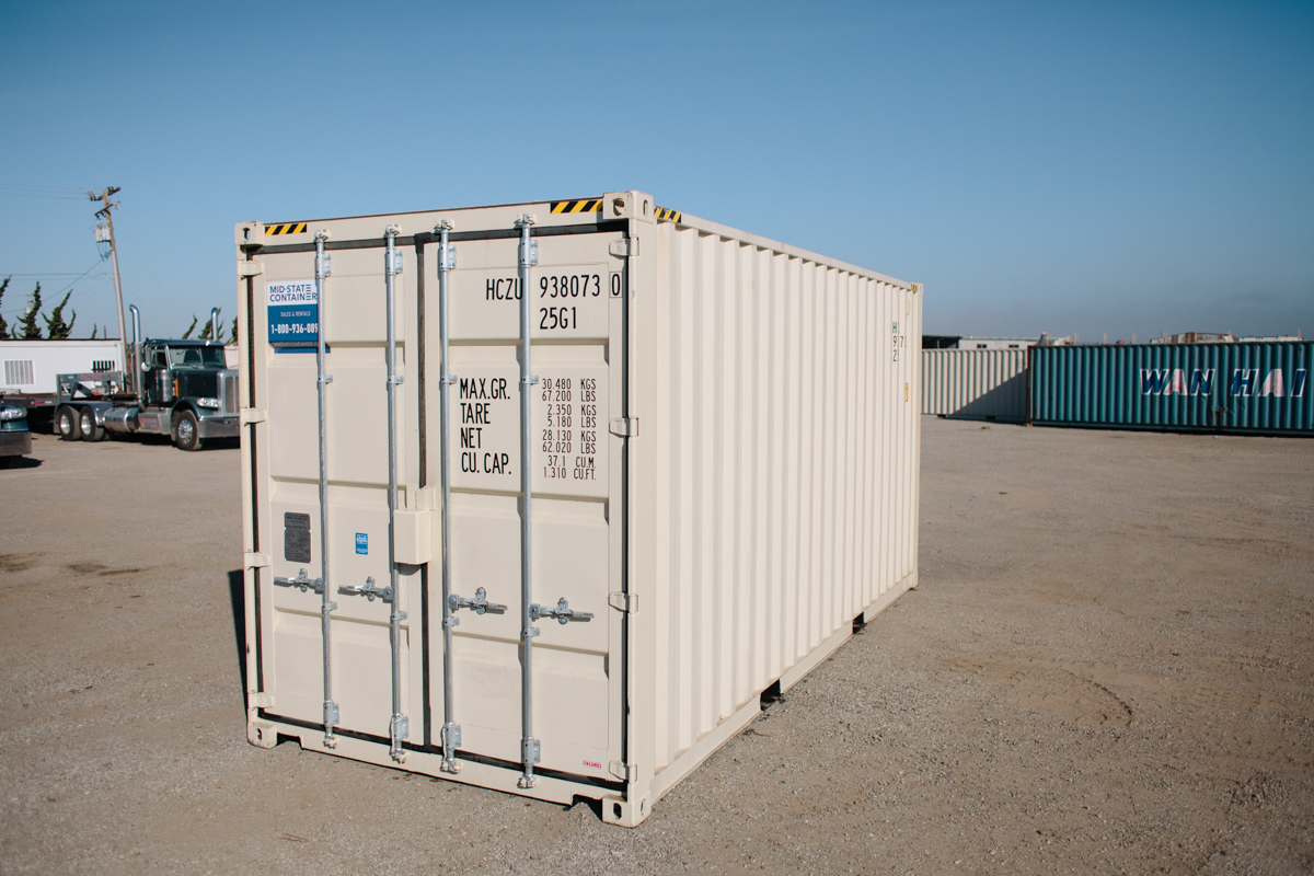 SAN LUIS OBISPO Shipping Storage Containers Midstate Containers