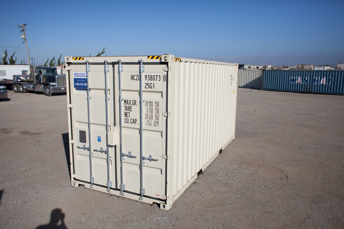 PLACERVILLE Shipping Storage Containers — Midstate Containers