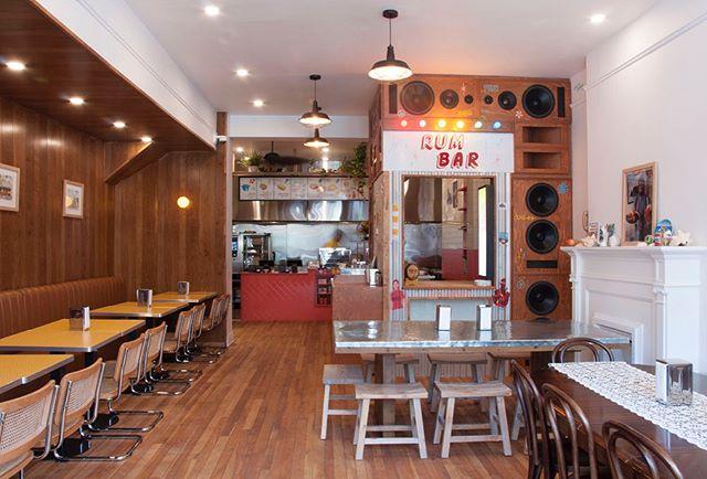 Welcome to Lloydie's Crescent street. #restaurantdesign #caribbean