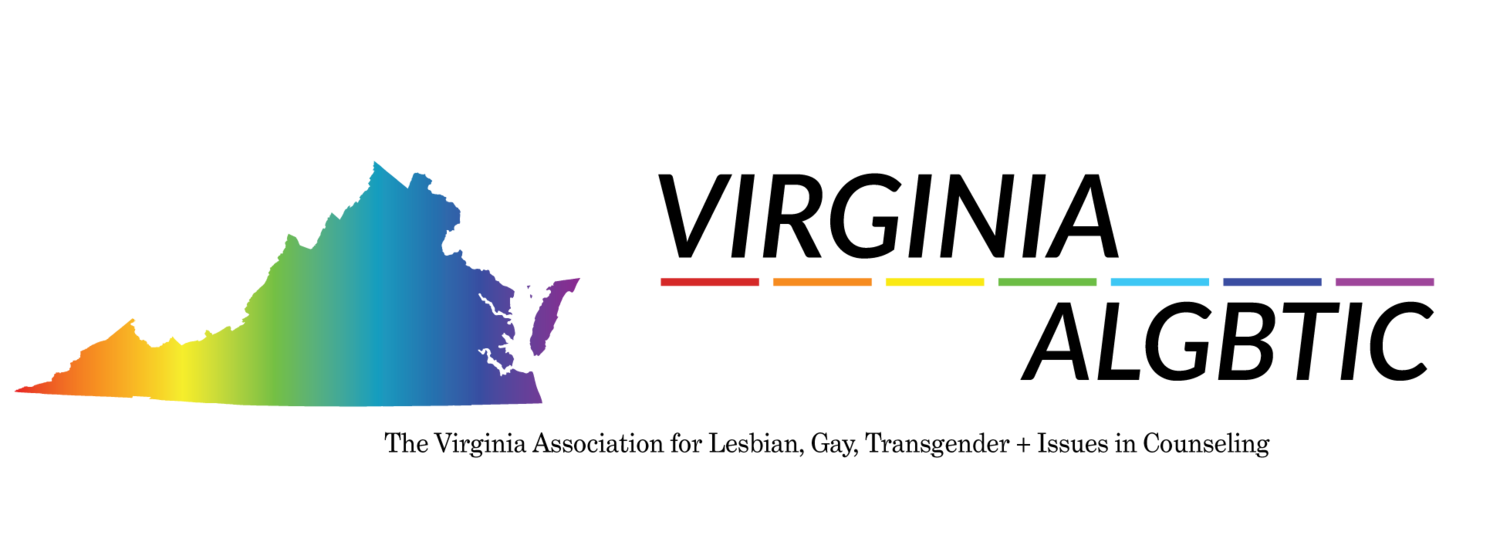 The Virginia Association for Lesbian, Gay, Bisexual, & Transgender + issues in Counseling