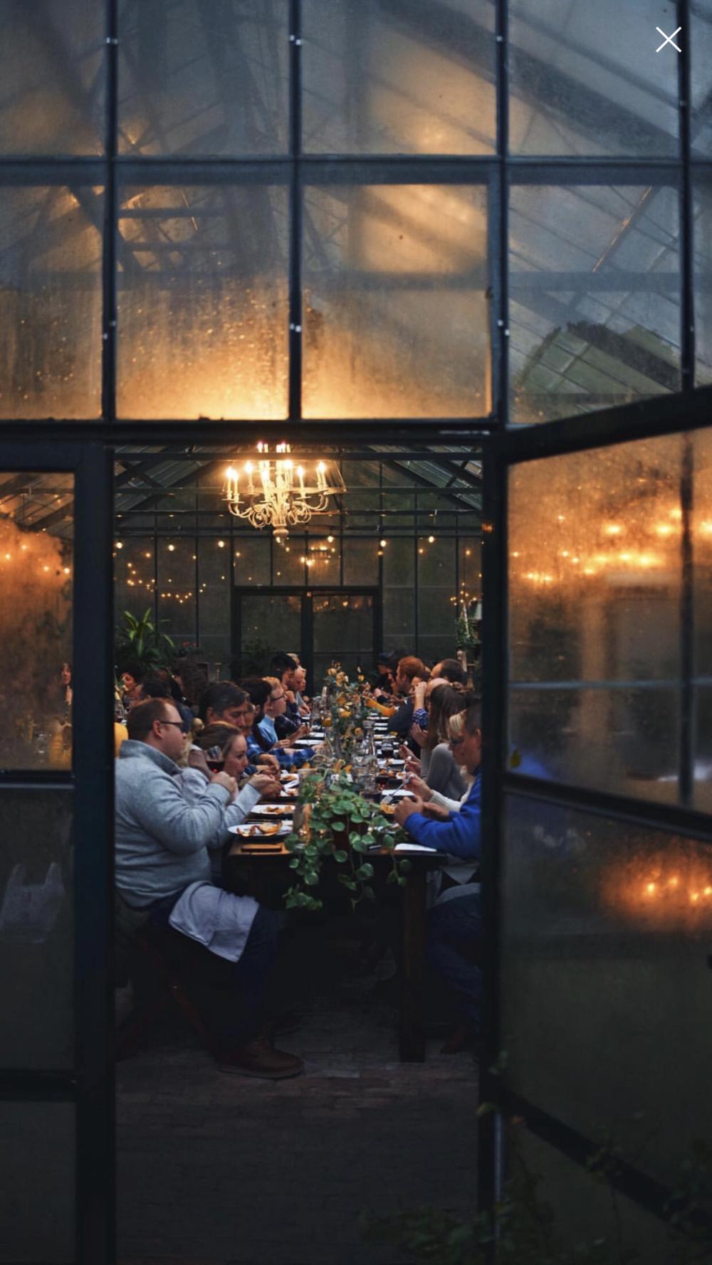 Photo by  Eva Kosmas Flores  of  Our Secret Supper