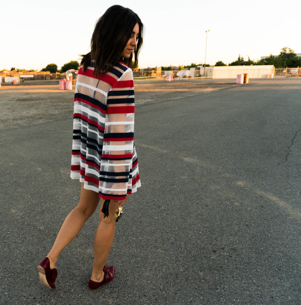 Free People Call Me Mini Dress - Date Night Look - Just As Created 4