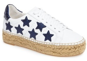 MARC FISHER STAR PRINT SHOES
