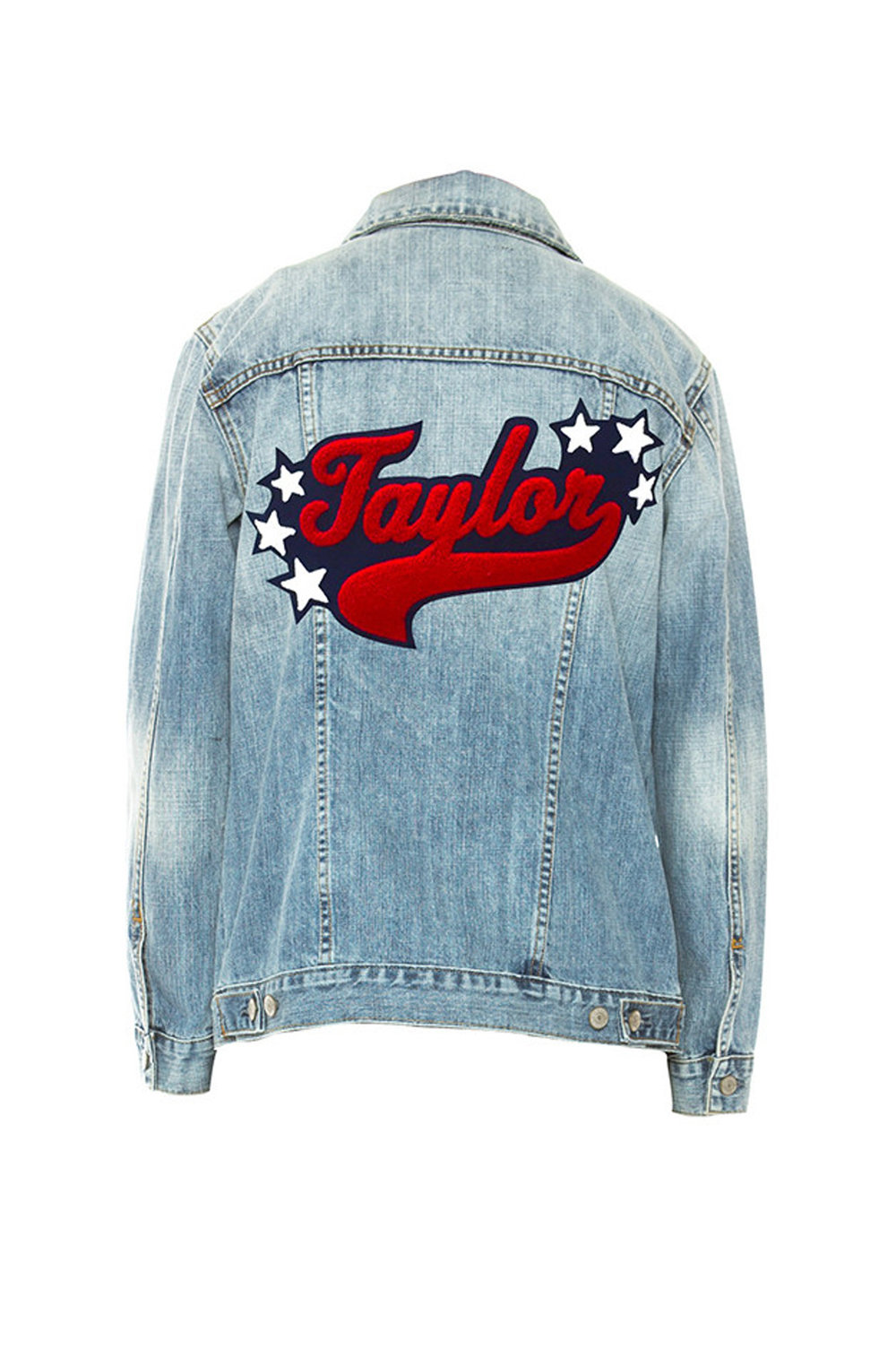 RAILS CUSTOM DENIM JACKET