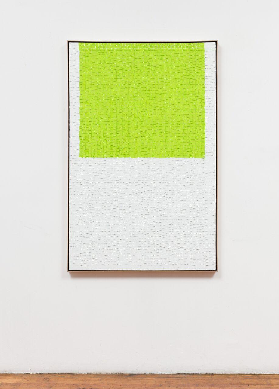 "Water DLGW-17, 2017, oil on canvas, 56"" x 36"""