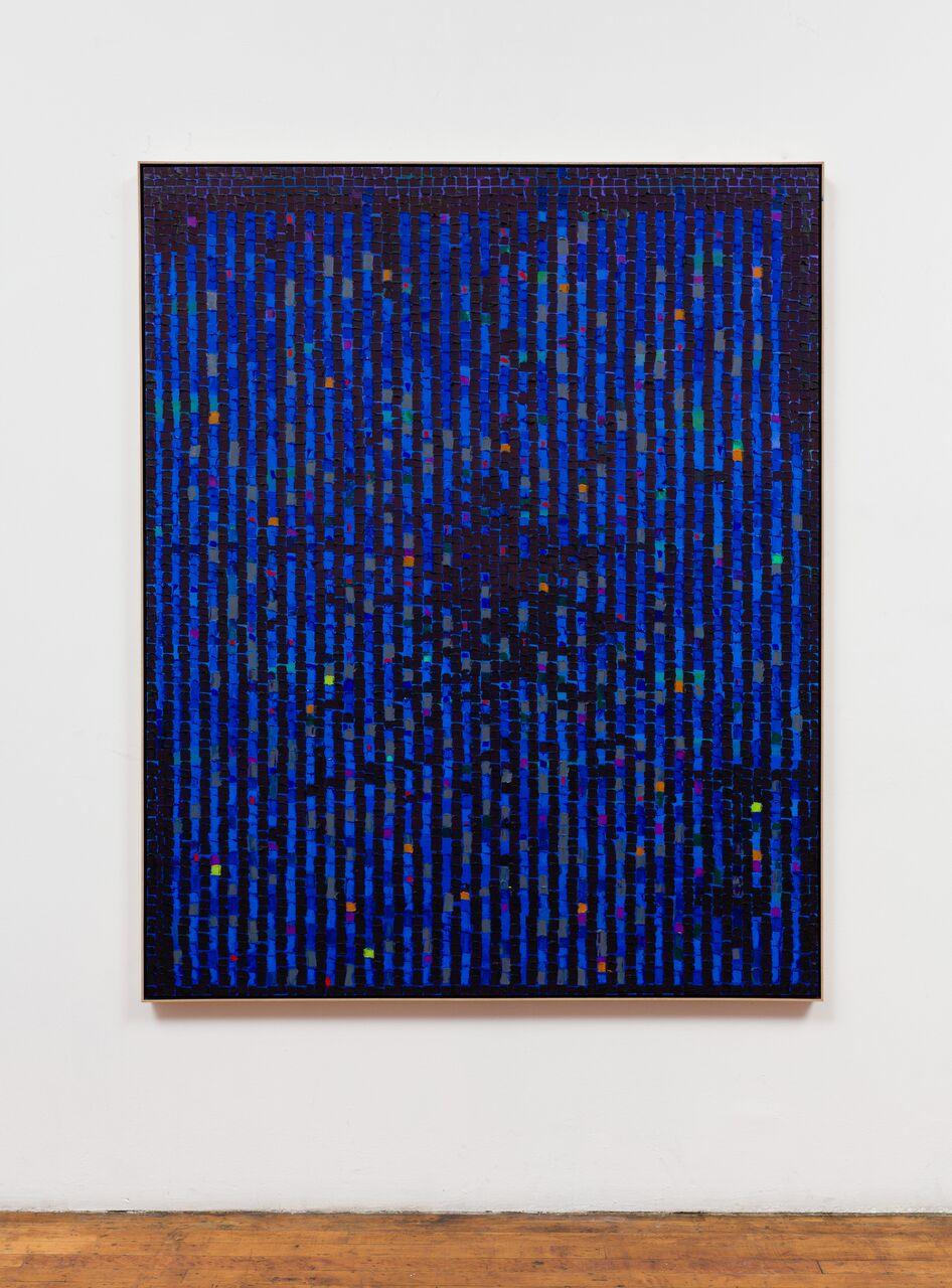 "Water BLBB-17, 2017, oil on canvas, 64"" x 52"""