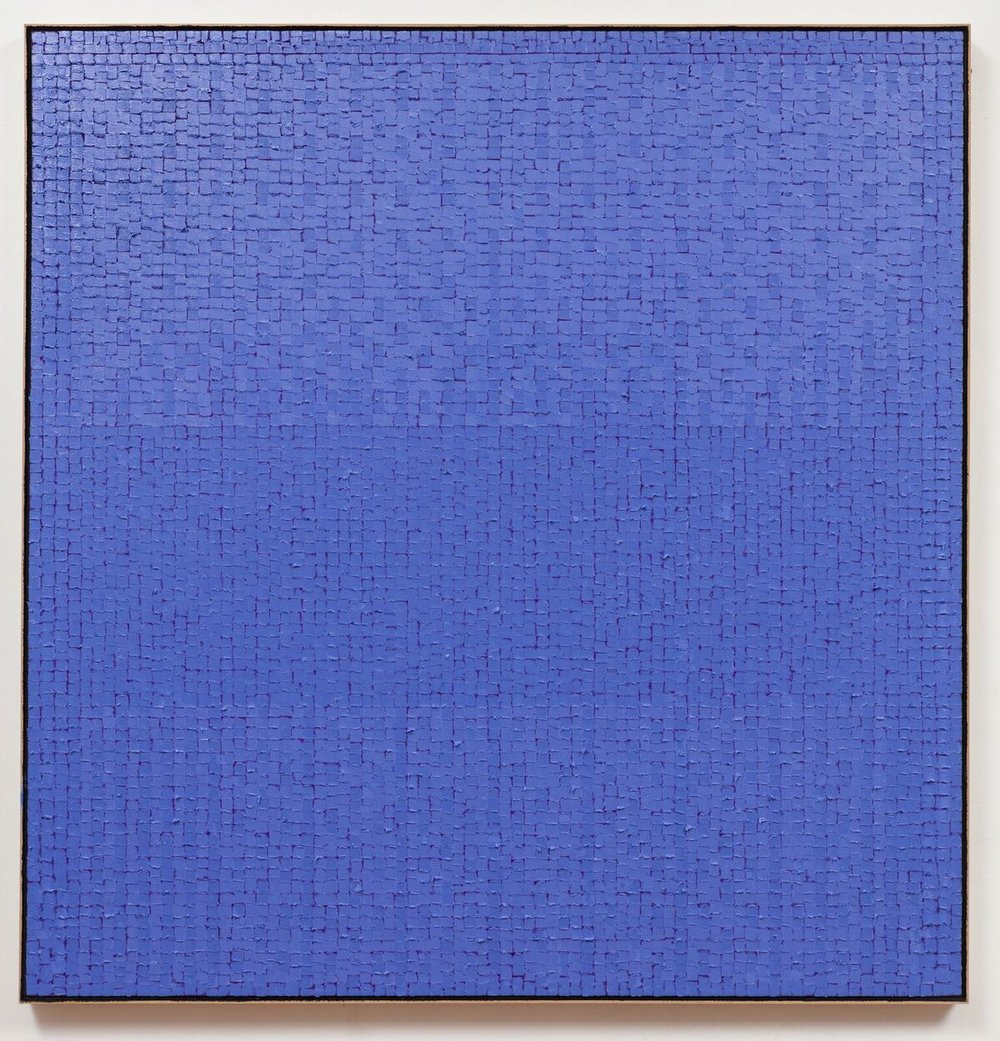 """WaterBLMV-18 ,  2018,  oil on canvas, 56"""" x 36"""""""