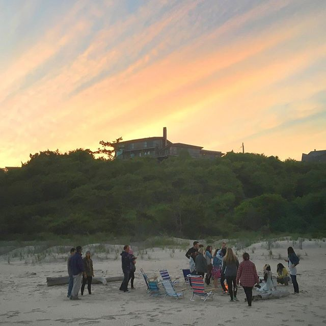A weekend full of meditation, yoga, food, biking, dharma talks, dancing, new and old friends has left me feeling a sense of peace and grounding. Thank you @the.path for an incredible weekend. #play #selfcare #love #thepathnyc #montauk #bonfire #soundmeditation #chill #grateful #love