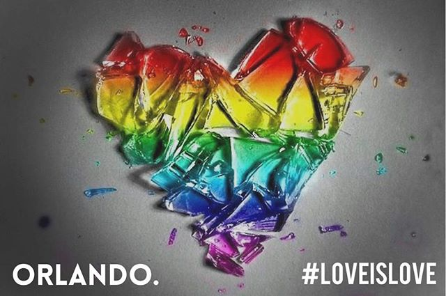 Orlando.  Don't pray for them if you don't UNCONDITIONALLY love them.  #loveislove🌈 #EVLTWN