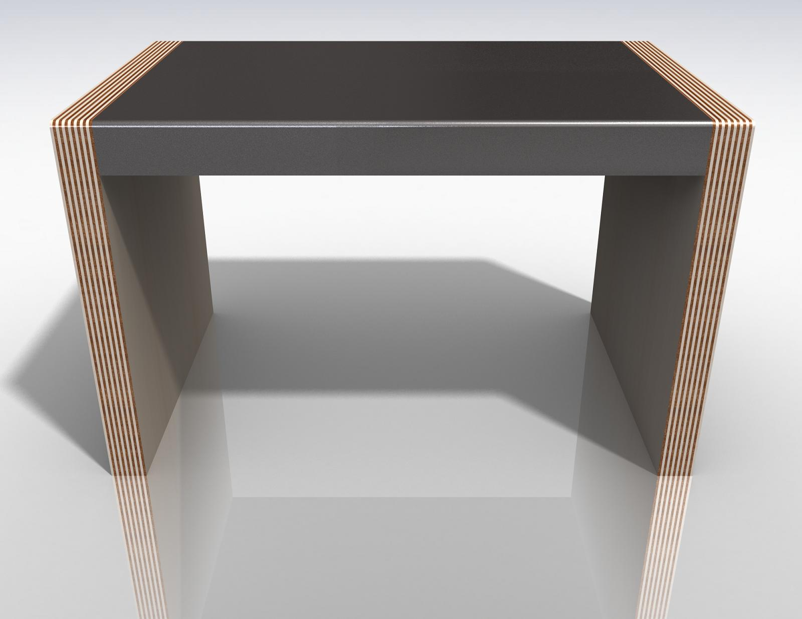 night stand front rendering
