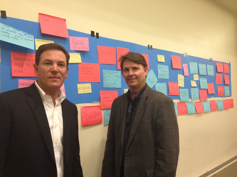 EiQ Co-Founders Xavier Butte and Terry Farmer.