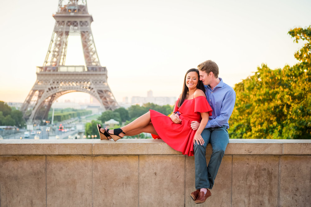 A Summer Engagement in Paris