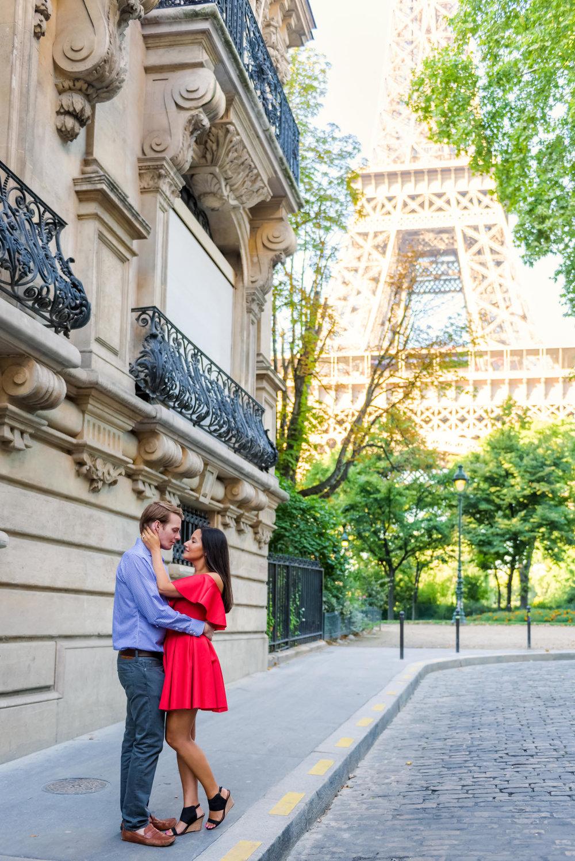 A Summer Engagement in Paris