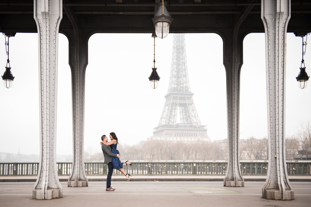 A paris Winter Engagement - Sunny & Kavita