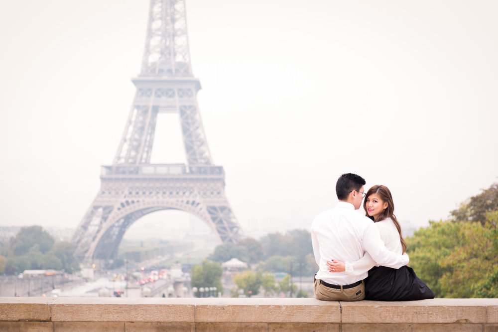 A Paris Autumn Honeymoon - Chew & Ace