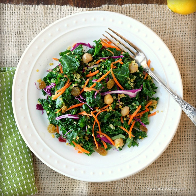 Quinoa + Kale Supersalad