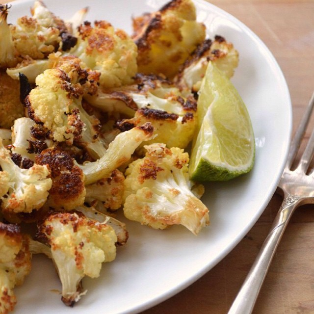 Not Yuck Roasted Cauliflower Recipe