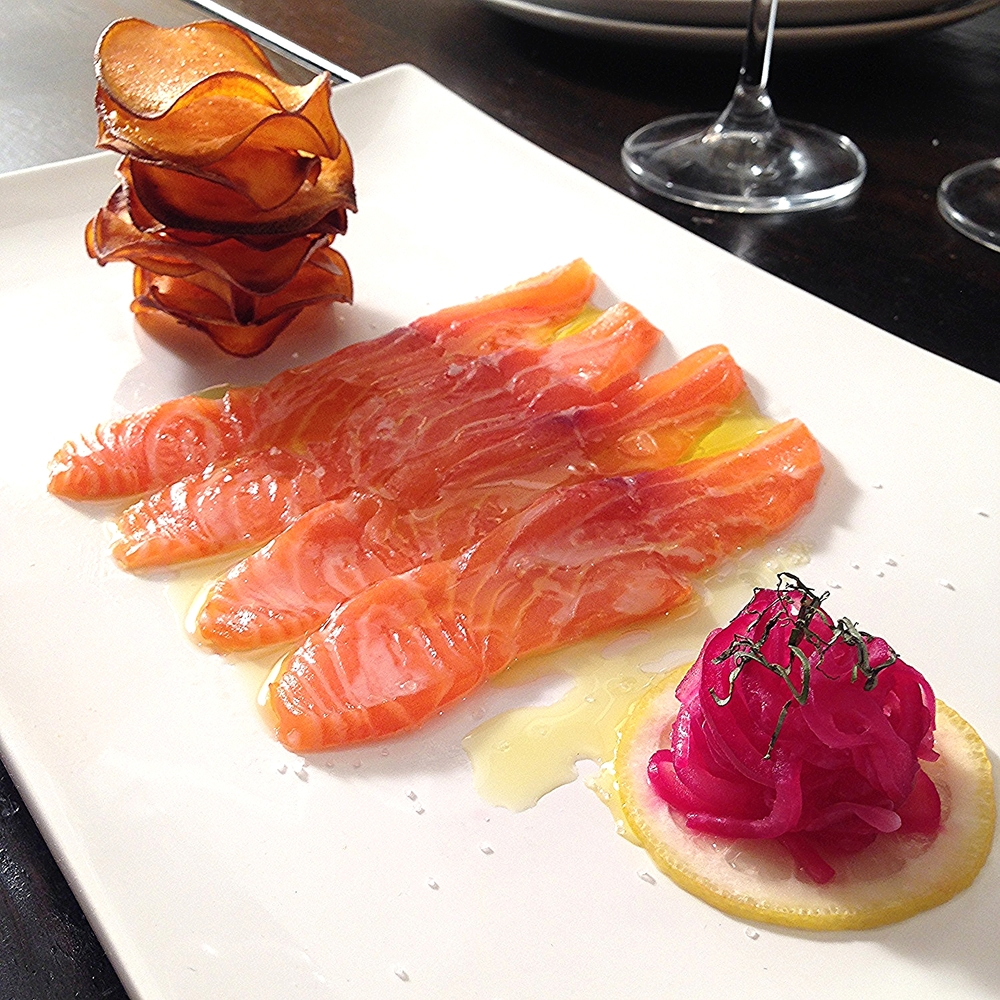 Salmon C  eviche Recipe