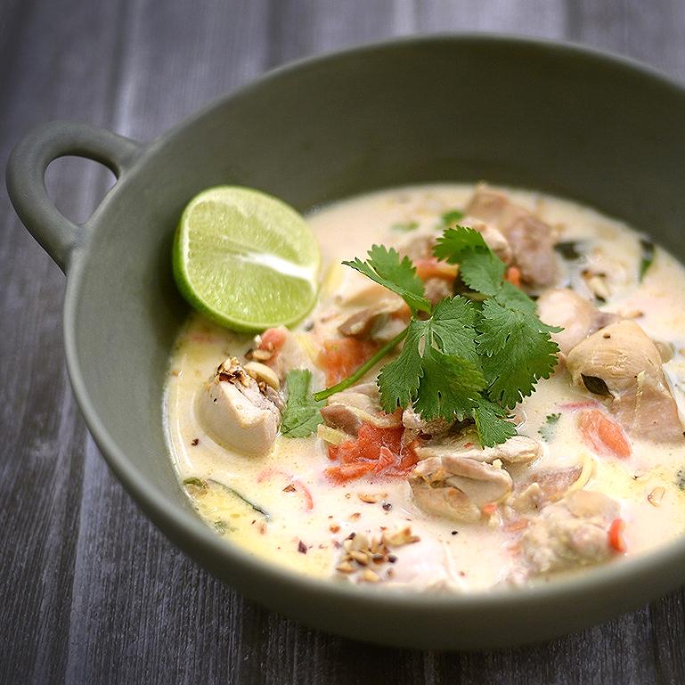 Thai CoconutChickenSoup Recipe