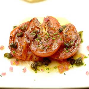 Easy & Healthy Grilled Tomato Salad Recipe