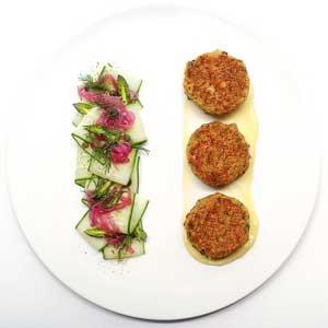 Chef Mike Ward's Salmon and Quinoa Cakes Recipe