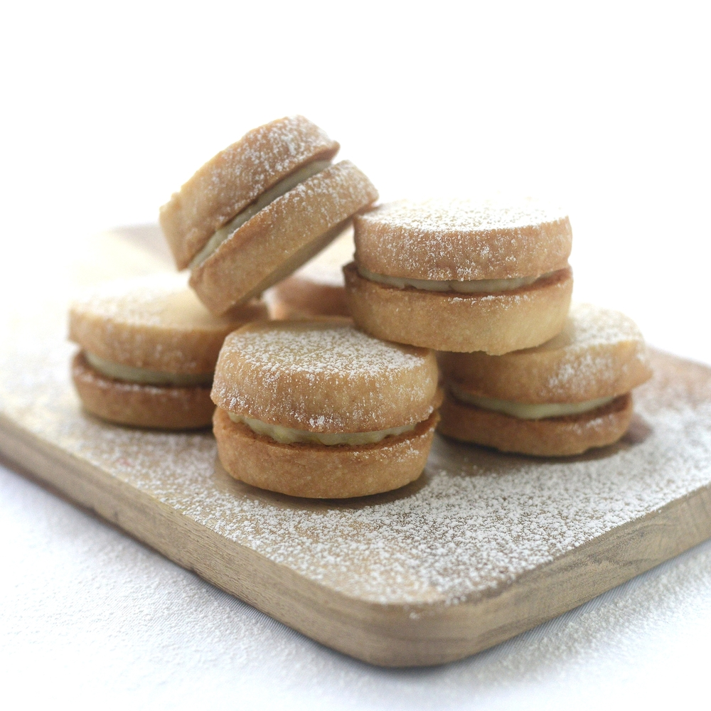 Faith's Lemon Cream Cheese Shortbread Snowstorms by Chef Mike Ward