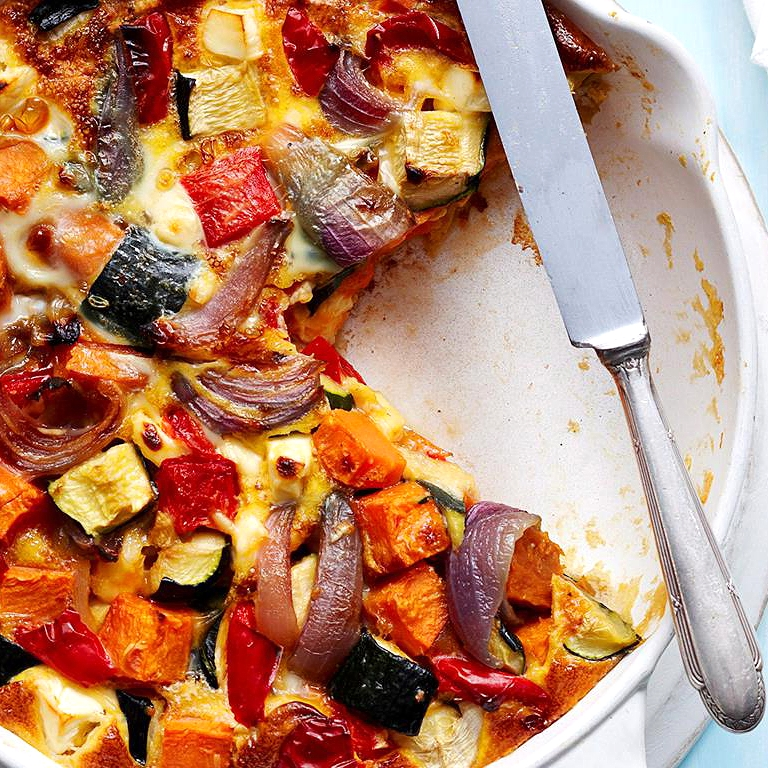 Roast Veg Frittata by Chef Mike Ward