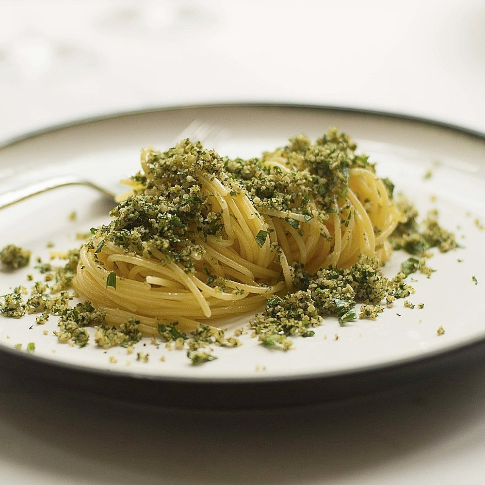 Spaghetti w Gremolata by Chef Mike Ward