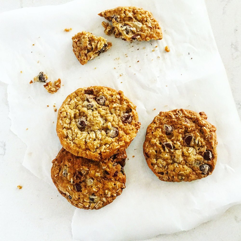 Faith's Feel-Good Oatmeal Choc Chip Cookies by Chef Mike Ward