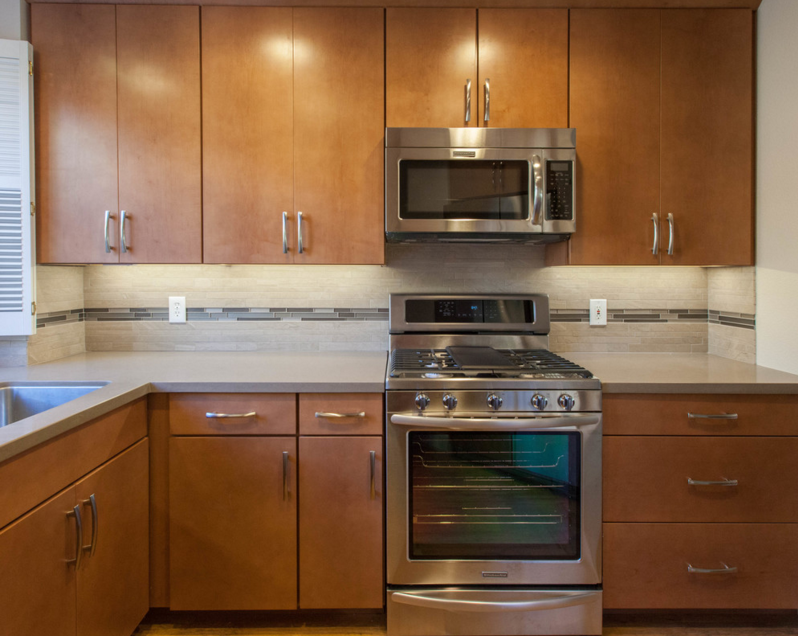 clean santa maria kitchen cabinets