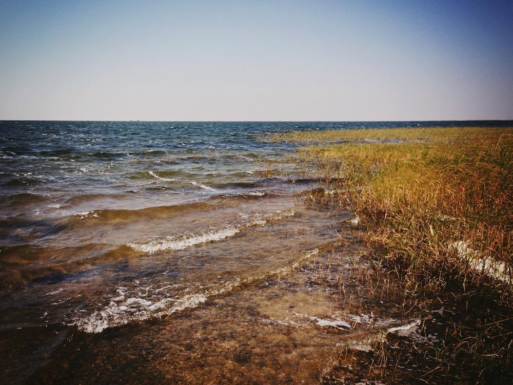 Lake Kampolombo, Mabo village, Samfya, Luapula, Zambia-- A tsunami starts with a ripple.